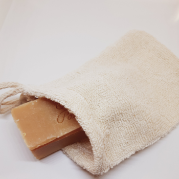 Soap Saver Bag With Soap